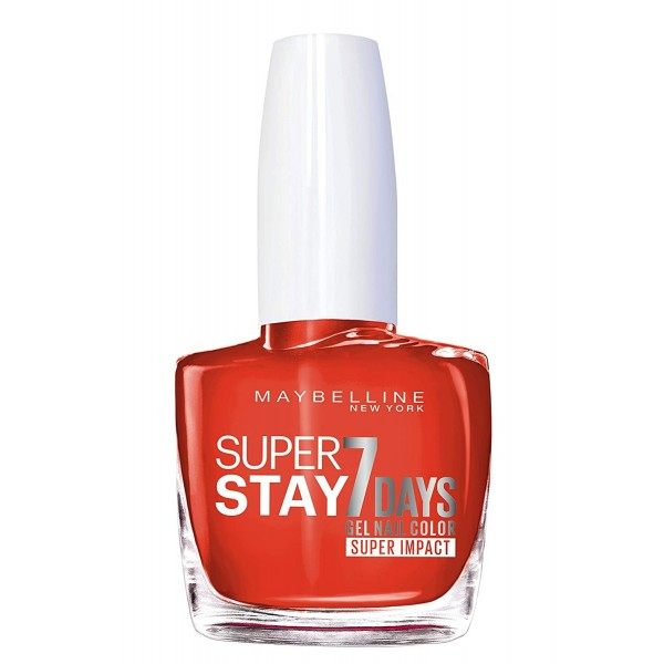 884 Non Stop Orange - Vernis à Ongles Strong & Pro / SuperStay Gemey Maybelline Maybelline 2,49€