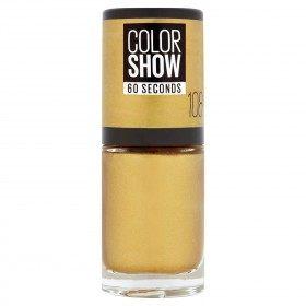 108 Golden Sand - Nagellack Colorshow 60 Sekunden in der presse / pressemitteilungen-Maybelline presse / pressemitteilungen