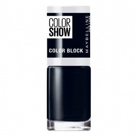 489 Black Edge - Nail Colorshow 60 Seconds of Gemey-Maybelline Gemey Maybelline 4,99 €