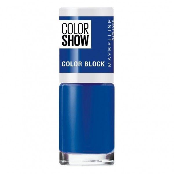 487 Blue Blocks - Vernis à Ongles Colorshow 60 Seconds de Gemey-Maybelline Gemey Maybelline 4,99€