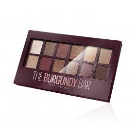 O Borgoña Bar Paleta Sombra do ollo Maybelline Nova York Gemey Maybelline 16,99 €
