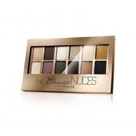 24 Karat Nudes - Palette, Lidschatten-Maybelline New York presse / pressemitteilungen Maybelline 16,99 €