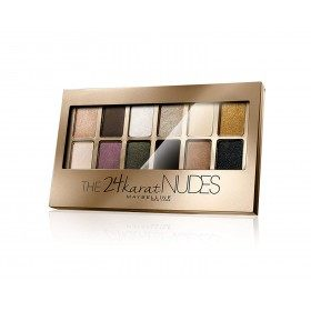 24 Quilates Nudes - Paleta Sombra do ollo Maybelline Nova York Gemey Maybelline 16,99 €