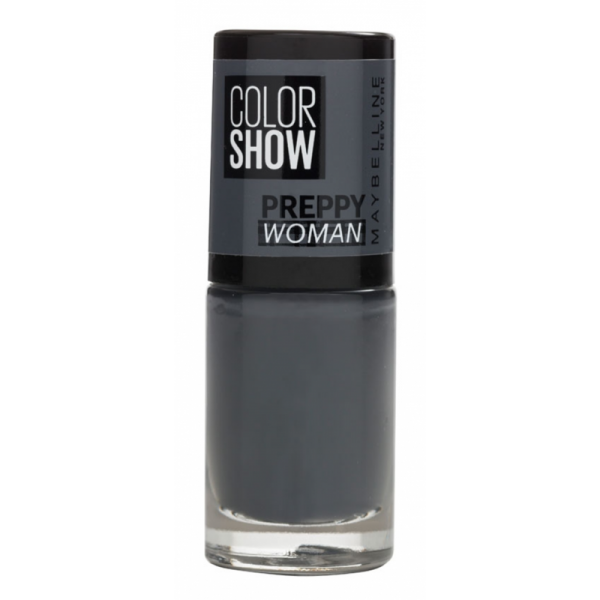 76 Empire Grey - Vernis à Ongles Colorshow 60 Seconds de Gemey-Maybelline Maybelline 1,99 €