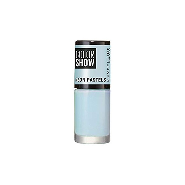 483 Blue Voltage - Vernis à Ongles Colorshow 60 Seconds de Gemey-Maybelline Maybelline 1,99€