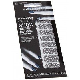 Heavy Métal - Stickers Vernis à Ongles Motifs Imprimés Nail Art de Maybelline New-York Gemey Maybelline 8,99€