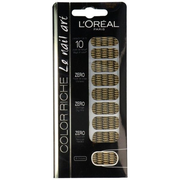 008 Gold Blade - Stickers Nail Polish Nail Art from L'oréal Paris L'oréal Paris 10,99 €