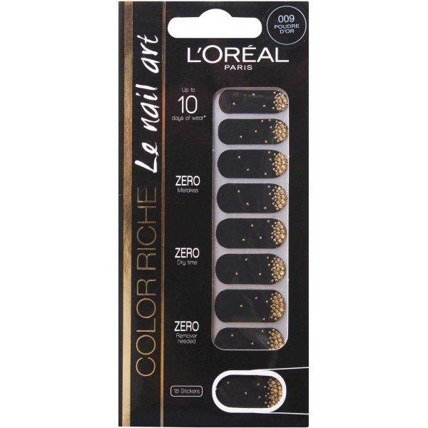 009 Poudre D'Or - Stickers Vernis à Ongles Nail Art de L'Oréal Paris L'Oréal 1,99€