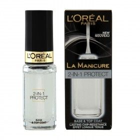 Top Coat & Base Coat 2-in-1 - Nail Care The Manicure L'oréal Paris L'oréal Paris 9,90 €