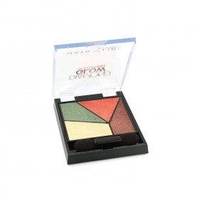 10 Fiebre de la Jungla - Paleta de Sombra de ojos Eye Studio Diamond Resplandor de Gemey-Maybelline Gemey Maybelline 9,99 €