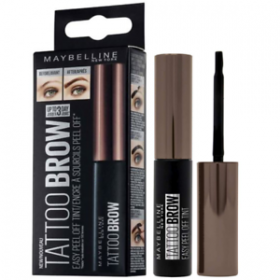 Dark brown - Ink Eyebrows Peel Off, Long-wearing Tattoo Brow of Gemey Maybelline Gemey Maybelline 14,99 €