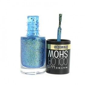 222 Beaming Blue - Nail Colorshow 60 Seconds of Gemey-Maybelline Gemey Maybelline 5,99 €