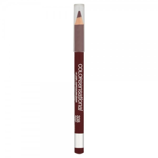 338 Midnight Plum Lip Pencil - Lip Liner Color Sensational de Gemey Maybelline Gemey Maybelline 9,99 €