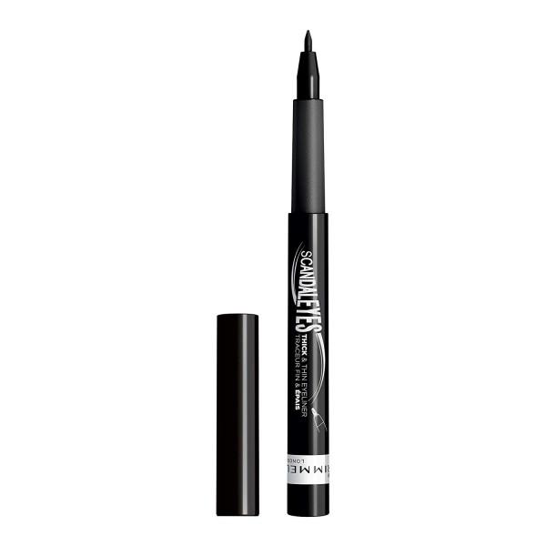 001 Noir - EyeLiner Traceur Fin et Epais ScandalEyes THICK & THIN de Rimmel London Rimmel London 14,99€