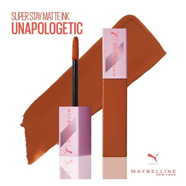 09 Unapologetic - Rouge à lèvre SuperStay MATTE INK de Maybelline New York Maybelline 4,99€