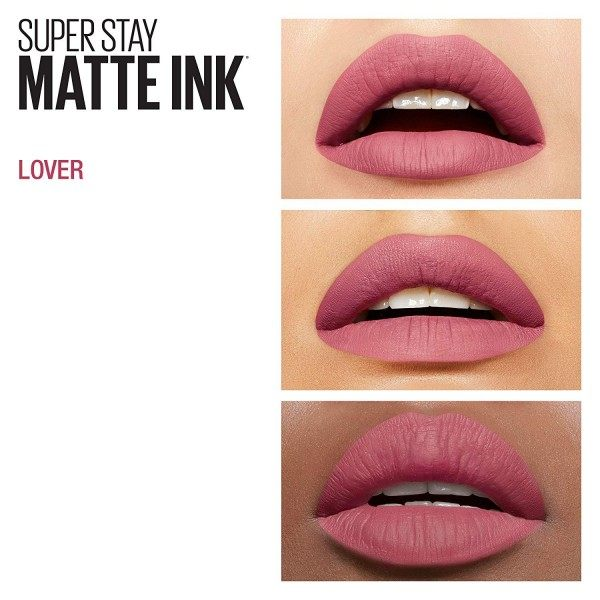15 Amante Rojo labial SuperStay MATE de TINTA de Maybelline New York Gemey Maybelline 5,99 €