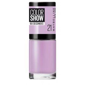 21 Lila Vi - esmalt d'Ungles Colorshow Maybelline New york Gemey Maybelline 1,99 €