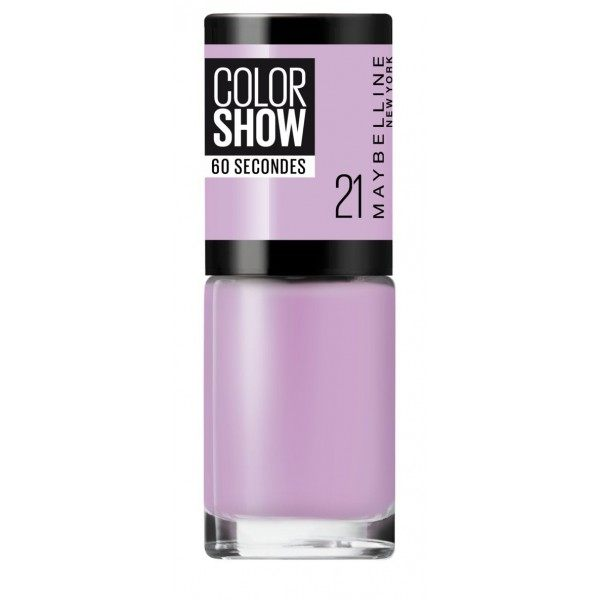 21 Lilac Wine - Vernis à Ongles Colorshow de Maybelline New york Maybelline 1,99 €