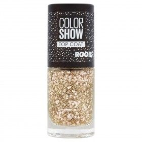 92 Rose Rocks - Top Coat - Vernis à Ongles Colorshow de Maybelline New york Gemey Maybelline 2,49 €