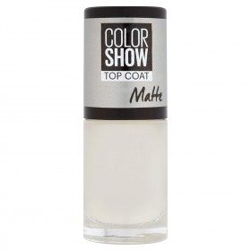 TOP COAT MATTE Nail Polish Colorshow Maybelline New york Gemey Maybelline 3,99 €