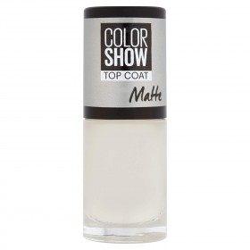 TOP COAT MATTE - Vernis à Ongles Colorshow de Maybelline New york Gemey Maybelline 3,99€