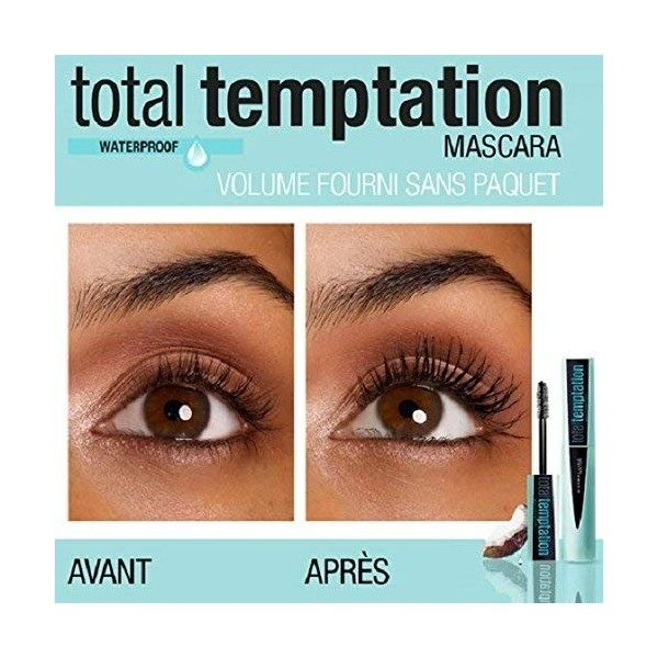Black Waterproof - Mascara Volume Total Temptation of Gemey Maybelline Gemey Maybelline 7,99 €