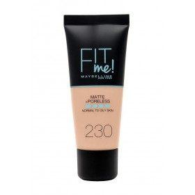 230 Natural de la Piel - fundación FIT ME MATE y sin poros de Maybelline Gemey Maybelline 7,99 €