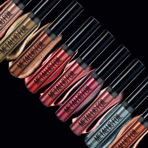 130 Laberinto ( Azul ) - barra de labios Líquida MATE Metálico para Gemey Maybelline