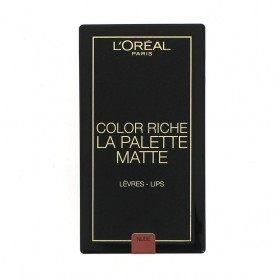 02 Nude MATE Paleta Batom Cor MATE Riche de L 'oréal París L' oréal París 5,99 €