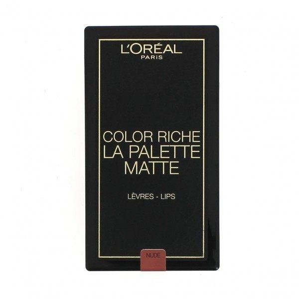 02 Nude MATTE Palette Lipstick MATTE Color Riche from L'oréal Paris L'oréal Paris 5,99 €