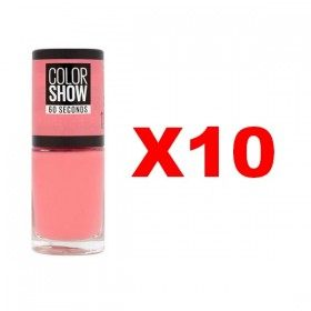 Lot de 10 : 11 FROM NY WITH LOVE - Vernis à Ongles Maybelline Gemey Maybelline 11,99€