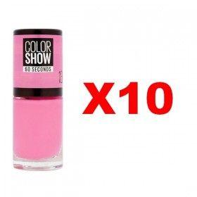 Lot of 10 : 13 NY PRINCESS - Nail Polish Maybelline Gemey Maybelline 14,99 €