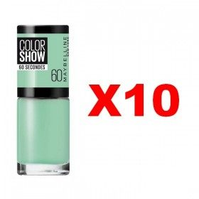 Lot of 10 : 60 Roof Terrace - Nail Polish Maybelline Gemey Maybelline 9,99 €