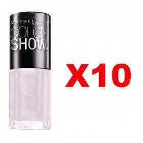 Lot of 10 : 70 Ballerina Chic - Nail Polish Maybelline Gemey Maybelline 9,99 €