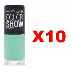 Lot of 10 : 214 Green With Envy - Nail Polish Maybelline Gemey Maybelline 9,99 €