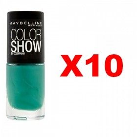 Lot de 10 : 268 Show me the Green - Vernis à Ongles Maybelline Gemey Maybelline 9,99 €
