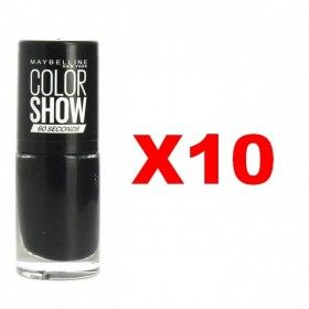 Lot of 10 : 677 Blackout - Nail Polish Maybelline Gemey Maybelline 12,99 €