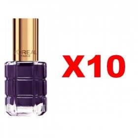 Lot of 10 : 334 Purple Night - Nail Varnish Oil, L'oréal Paris, L'oréal Paris 24,99 €