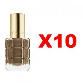 Lot of 10 : 662 Moka Chic - Nail Varnish Oil, L'oréal Paris, L'oréal Paris 24,99 €