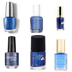 Lot (2) de 6 Vernis à ongles Bleu  19,99€