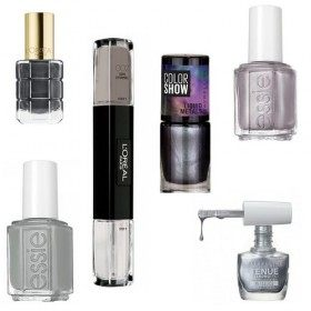 Lot of 6 nail Polish Grey 21,99 €
