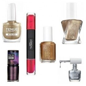 Lot of 6 nail Polish Métallise 21,99 €