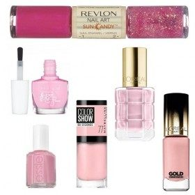 Lot of 6 nail Polish Pink 15,99 €