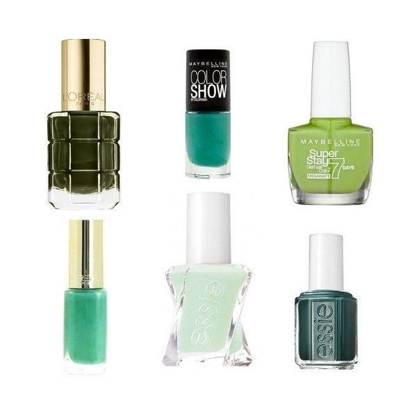 Lot of 6 nail Polish Green 14,99 €