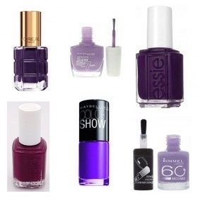Lot de 6 Vernis à ongles Violet  19,99 €
