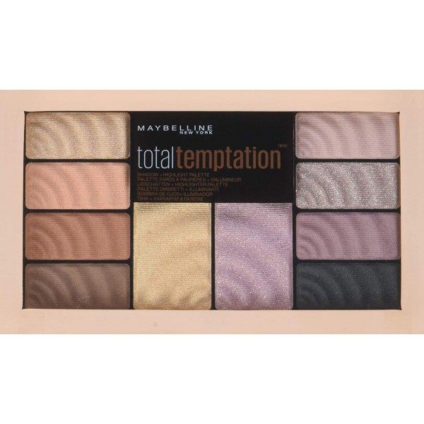 Palette eyeshadows and Highlighters Total Temptation Maybelline New York Gemey Maybelline 6,99 €