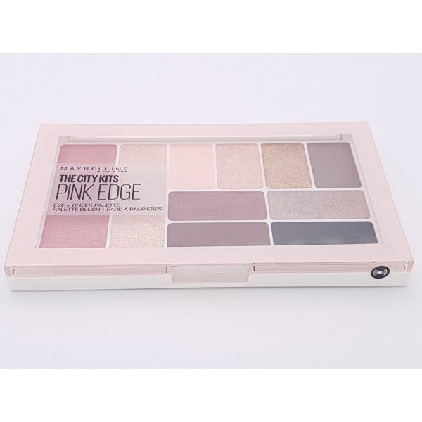 The City Kits PINK EDGE - Palette d'Ombre à Paupières + Blush de Maybelline New York Maybelline 6,99€
