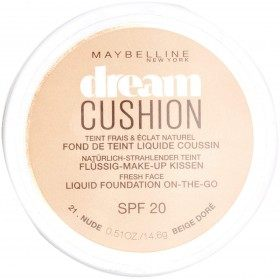 21 Beige Doré - Fond de Teint Dream Cushion SPF 20 de Maybelline New York Gemey Maybelline 5,99 €