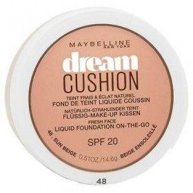 48 Beige Ensoleillé - Fond de Teint Dream Cushion SPF 20 de Maybelline New York Gemey Maybelline 5,99€