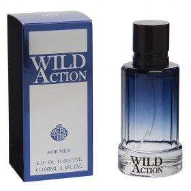 Wild Action - Perfume generic Man Eau de Toilette 100ml Real Time 8,99 €
